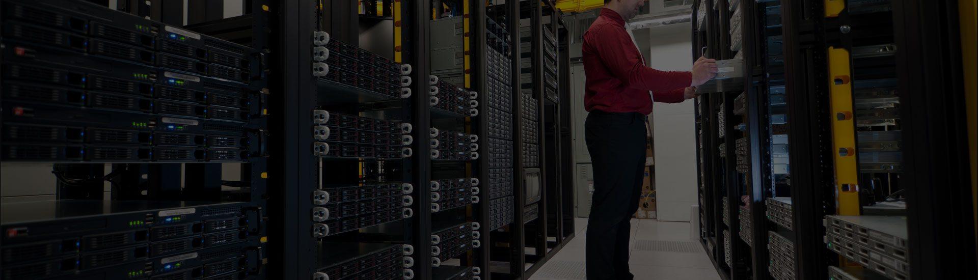 Không gian hạ tầng Trung tâm dữ liệu – DATA CENTER