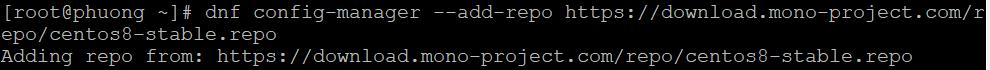 Cách Cài Đặt Mono Trên CentOS 7
