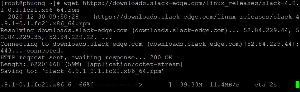 Cách cài đặt Slack trên CentOS 8