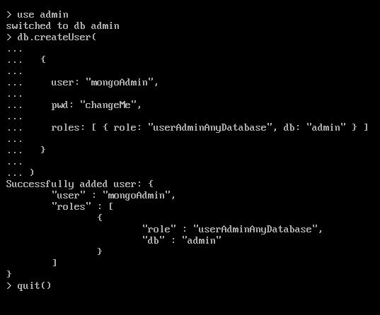 Cách cài đặt MongoDB trên CentOS 7