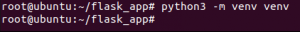 Cài đặt flast trên Ubuntu 20.04