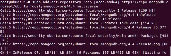 Cài đặt Mongodb trên ubuntu20.04