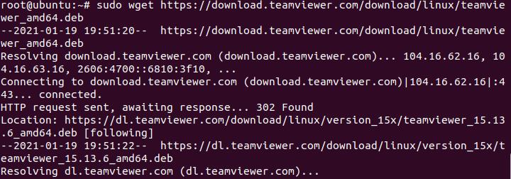 Cài đặt teamViewer trên ubuntu