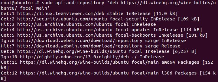 Cài đặt wine trên ubuntu 20.04